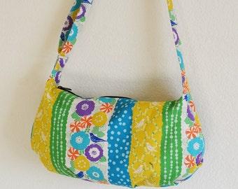 Pleated Cross Body Bag Purse Bird Women Handbag ON SALE