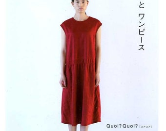 Quoi Quoi Dresses BOOK - Japanese Craft Pattern Book MM