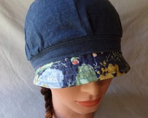 20s style hat, cloche, adult bonnet, flapper hat