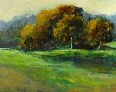 FREE SHIPPING Bobbi Doyle-Maher Southern Landscape  Original painting Tonalism
