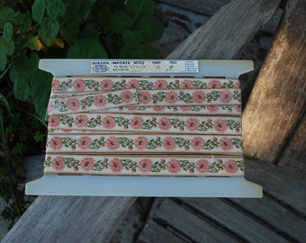 Vintage Emboirdered Trim ~ over 8 yards