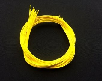 Mizuhiki - Japanese Decorative Paper Cords  Yellow