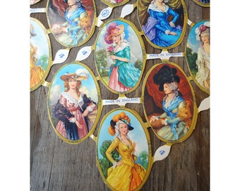 23 Vintage MLP Victorian Ladies Cutouts Made In England