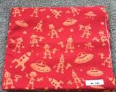 Fabric Destash no. 241 -- 2 yards of Michael Miller Mono Bot in Red