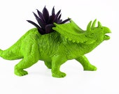 Dinosaur Planter for Succulents and Small Cacti Plants Great Gift for the Spring and Summer Months