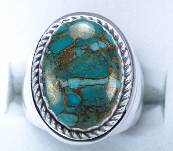 Genuine Turquoise Ring