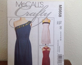 McCalls misses dress pattern. #M5658  2008