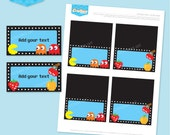 Instant download - ARCADE Party Buffet Labels - DIY Printable