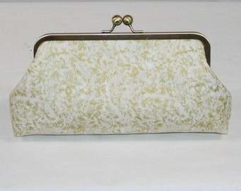 Gold wedding clutch, Bridesmaids clutch, Gold wedding, metallic purses, Vintage Wedding, Bridesmaid gift