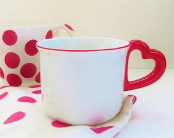 Lolita, Vandor 1978 heart mug , love