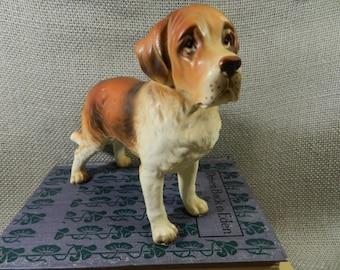 Vintage: Lefton St. Bernard figurine