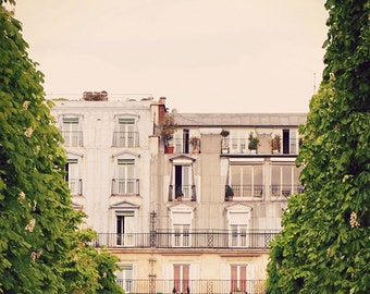 Rivoli  - Paris Art Print, Paris Landscape Photography by Leigh Viner