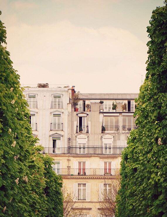 Rivoli  - Paris Art Print, Paris Landscape Photography by Leigh Viner