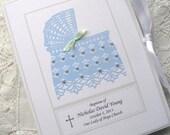 Baby Photo Album Personalized Baby Boy Gift, Baptism Boy Gift - Hand Beaded Baby Shower Gift, New Born Boy Gift 5x7