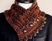 SALE The Fisherman's Wife Neck Warmer in Shipwreck