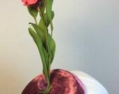 Pink Fascinator with flower -Derby hat- Cocktail Hat