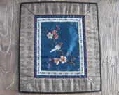 1970s Chinese Silk Embroidered Panel #2