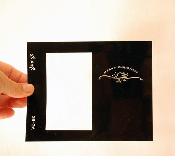 One Kodak Finishers Greeting Card Negative For 2 1/2 X 4 1/2