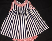 Vintage Thomas Baby Dress and Bloomers