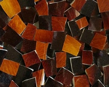 Mosaic Tiles--Brown Ombre--95 tiles