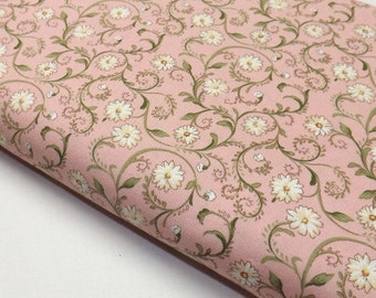Wilmington Prints Awakened Pleasures Q1077 89068 317 Danhai Nal Pink Flowers Quilting and Sewing Fabrics