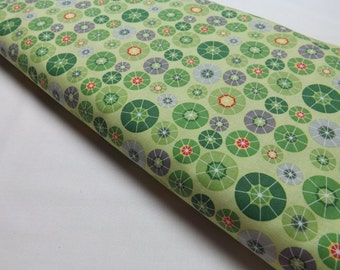 Riley Blake Designs C4014 Green Rainy Days And Mondays  Quilting Basic Print Quilting and Sewing Fabrics
