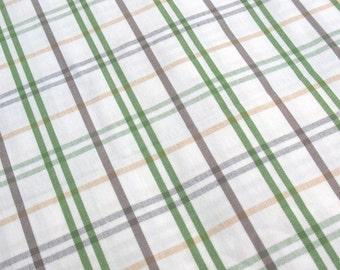 White Tartan - IKEA Gunita Cotton Fabric