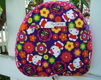My Carrie Baby/Toddler Backpack made with Hello Kitty Fabric