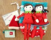 Elf Doll Pattern Set