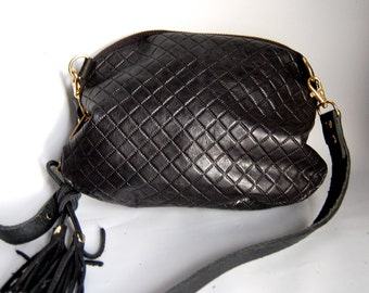 "AW13 Leather bag in ""quilted"" embossed leather"