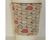 Hedgehogs Cup Cozy Tea Coffee Mug Cosy Sleeve Hedgehog Wildlife