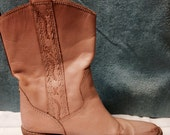 Dusty Pink Cowgirl Boots