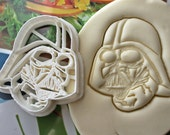 Star Wars Darth Vader Cookie Cutter / Made From Biodegradable Material / Brand New / Party Favor / Kids Birthday / Baby Shower / Cake Topper