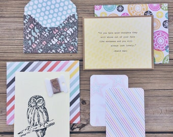 Flattery Stationery Kit - Spring Fun Edition