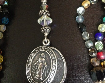 Religious Jewelry with Lords Prayer Inside Pendant Charm Gift