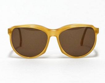 French Charles Jourdan vintage sunglasses - model: CJ12 - designer sunglasses - 1980s sunglasses made in France in NOS condition