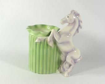 Stallion Horse Pot Miniature African Violet Planter