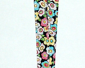 Fried Egg Flowers Lanyard - Handcrafted from Mary Engelbreit Fabric