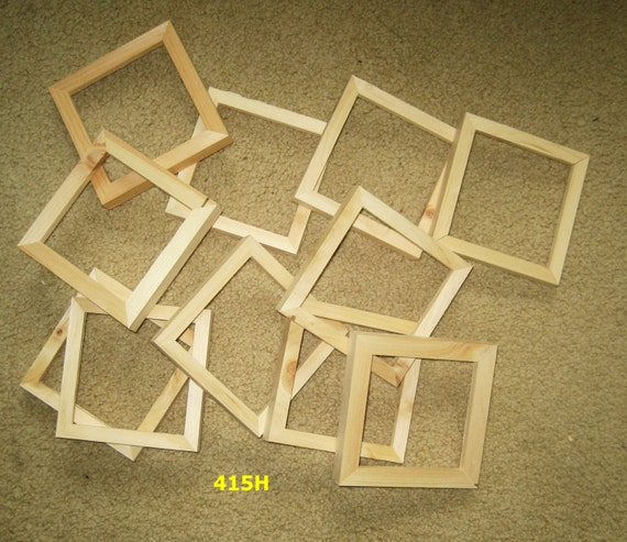 11 Unfinished 4 5x4 5 Wood Picture Frames My No By Niceframes