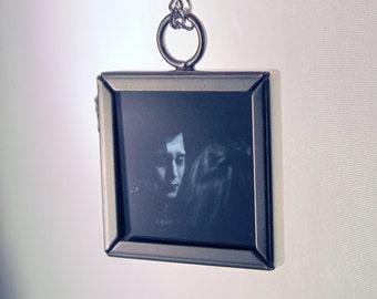 Upcycled Edward Scissorhands Film Pendant Necklace