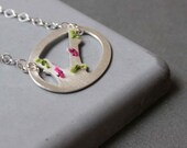 Sterling Silver Tree necklace - Spring Tree
