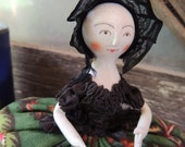 Lady Williamsburg Queen Anne Pincushion doll