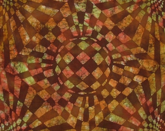 "Batik Pillow Cover ""Bent Space"""