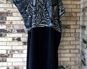 Medium/Large Fleece Caftan