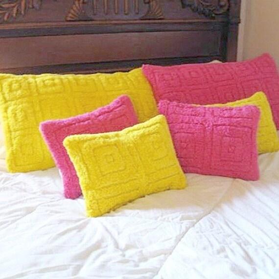 lush happy fuscia pillow cover for standard pillow
