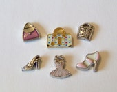 Shopping Theme Floating Charms, CHOOSE 1