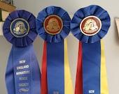 Three Vintage Horse Show Ribbons