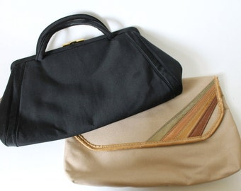 Vintage handbags /  1960s and 1980s / Buy one get one free!