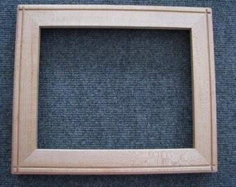 8x10 Quarter Sawn Rock Maple Picture Frame