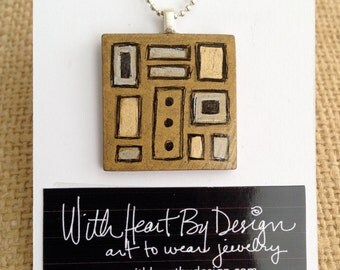 Pendant- Art to Wear Jewelry